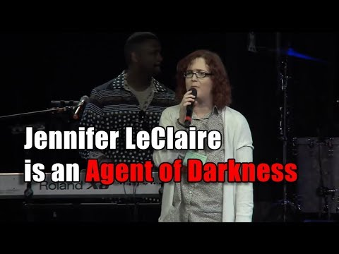 F4F   Jennifer LeClaire is An Agent of Darkness