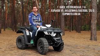 Видео-обзор квадроцикла Linhai M150 Eyas Video