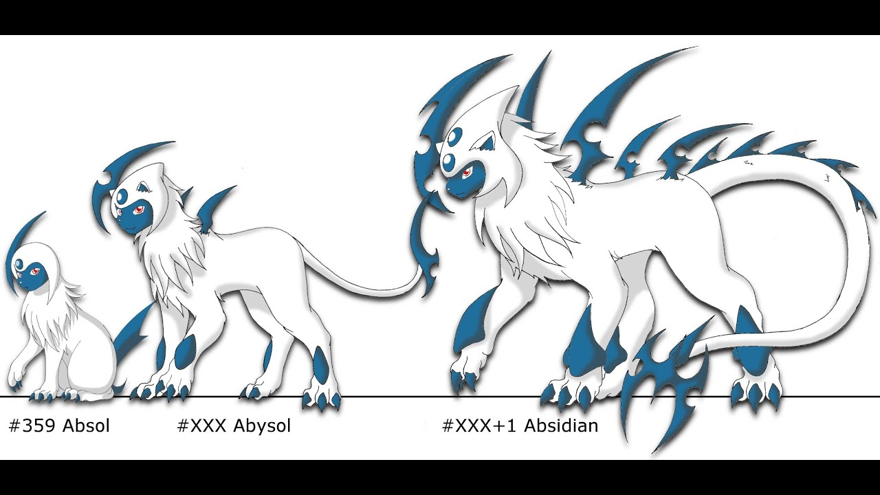 Pokemon X And Y Update Absol Evolution Review YouTube