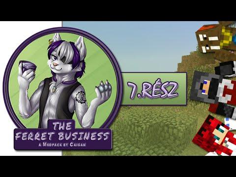 Minecraft - A Görény Meló - Depis Nether Tehén - 7.rész w/ IceBlueBird, Walrusz
