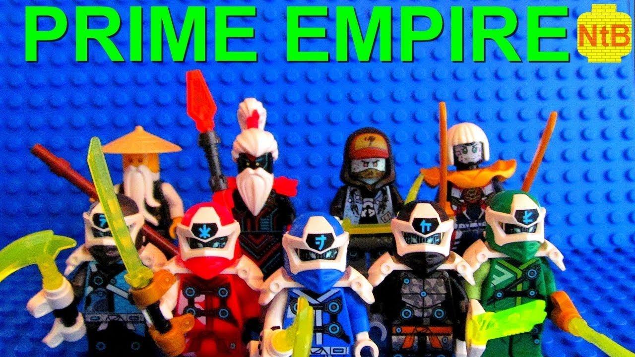 LEGO NINJAGO PRIME ARCADE STOP MOTION SERIES INTRO! - YouTube