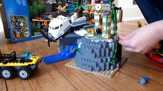 LEGO City Jungle Explorers 60161, Unboxing, Building and Playing with by SuperTwins TV