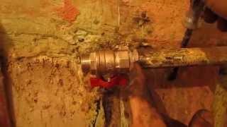 видео Шаровой кран для трубопроводов