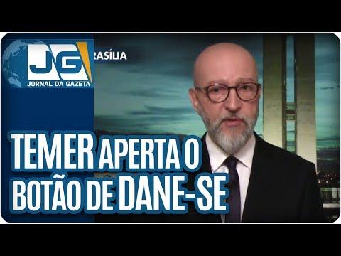 """Josias de Souza   Temer aperta o botão do """"dane-se"""""""