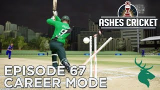 ASHES CRICKET | CAREER MODE #67 | NZ T20 DEBUT!
