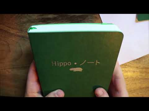 Review Of New Hippo Noto 500 PAGES OF TOMOE RIVER PAPER!!!