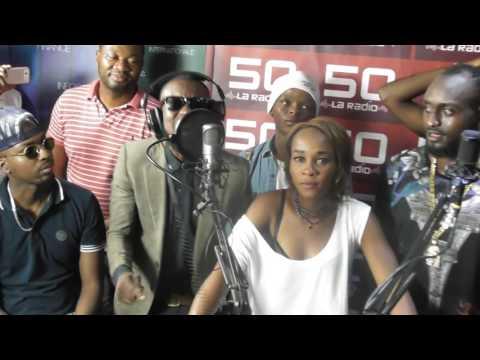 Mandala GOUROUGANG Freestyle Radio Télé 50 Clash urbain (Kinshasa) Allo Kinshasound !!!