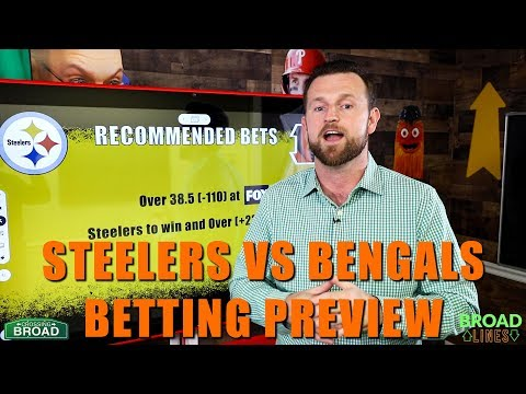 Steelers Vs Bengals Betting Prediction Odds And Picks Youtube