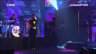 (HD 1080) Marina and the Diamonds - Rootless (SWR3 Concert 23/09/2010) 8