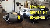 Starter Motor Replacement Hyundai 3 5 Liter Santa Fe 2001