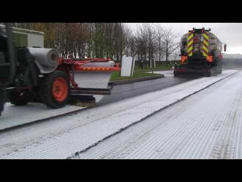 Foster Contracting Ltd Asphalt Geotextile/Geosynthetic installation Film