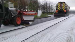Foster Contracting Ltd Asphalt Geotextile/Geosynthetic installation Film