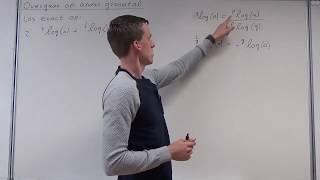 Logaritmen - Overgaan op ander grondtal (VWO wiskunde B)