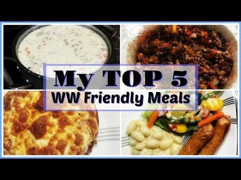 My Top 5 Weight Watchers Points Plus (AND Freestyle) Friendly Meals | My Magic Dinner Formula