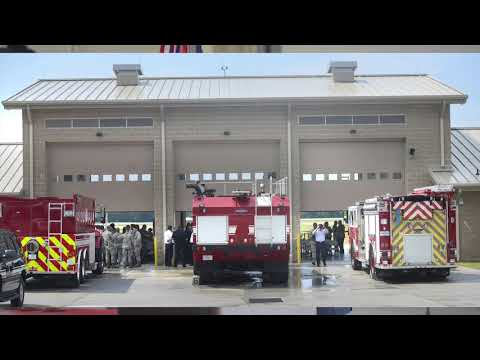 New fire station opens for Eglin and VPS
