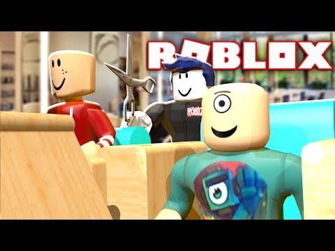 GETTING A MAKEOVER IN A ROBLOX SALON w/ RadioJH Games!