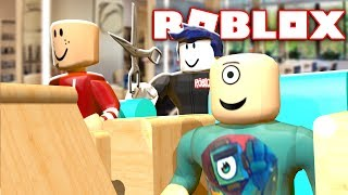 GETTING A MAKEOVER IN A ROBLOX SALON w/ RadioJH Games!