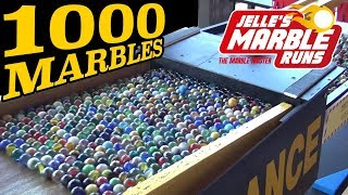Big Marble Machine with 1000 marbles!