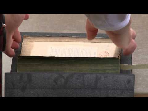 Special Collections Library - Handling Rare Books