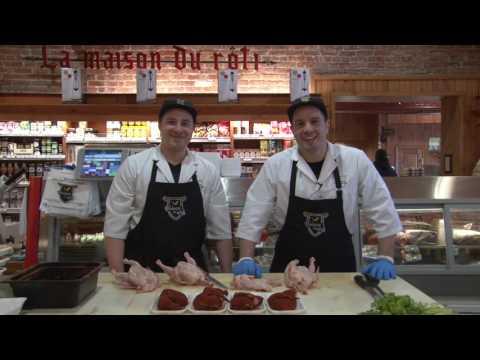 La Maison du Rôti,  le spécial de la semaine, le poulet de Cornouaille