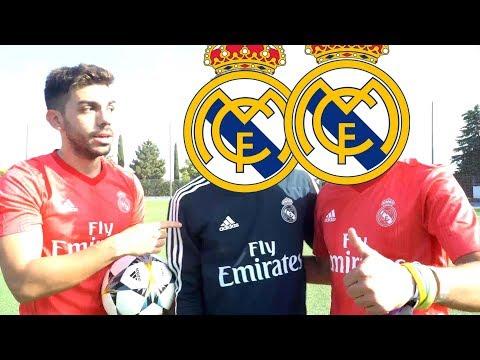 2 JUGADORES DEL REAL MADRID vs DjMaRiiO