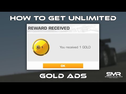 Real Racing 3 How To Get Unlimited Gold Ads RR3