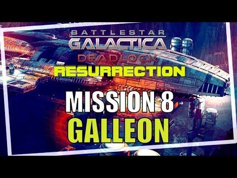 Battlestar Galactica Deadlock Resurrection Campaign Mission 8 Galleon