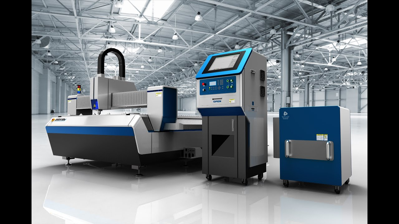 Cnc Laser Cutting Machine Ipg 500w 700w 1000w Fiber