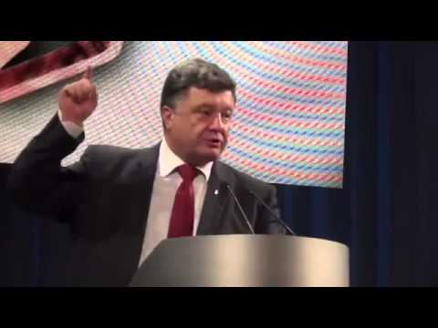 "Poroshenko: ""Their children will hole up in the basements - this is how we win the war!"" [ENG SUBS]"