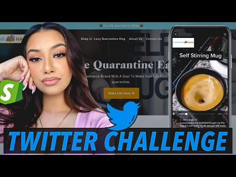 I TRIED SELLING A VIRAL QUARANTINE PRODUCT USING TWITTER INFLUENCERS | DROPSHIPPING CHALLENGE thumbnail