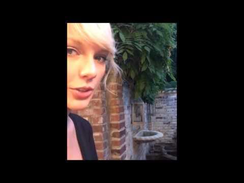 Taylor Swift Videos of Instagram in 2016