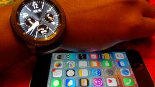 Gear S3 support for iOS iphones released! - first impressions