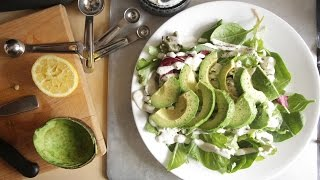 Avocado Salad Recipe | 1/1000 Salads
