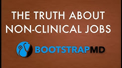 The Truth About Non-Clinical Jobs (Reality Check)