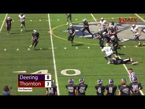 Thornton vs. Deering Football - September 1, 2018