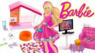 Barbie  Nowe mebelki do domku  mebluję domek Barbie