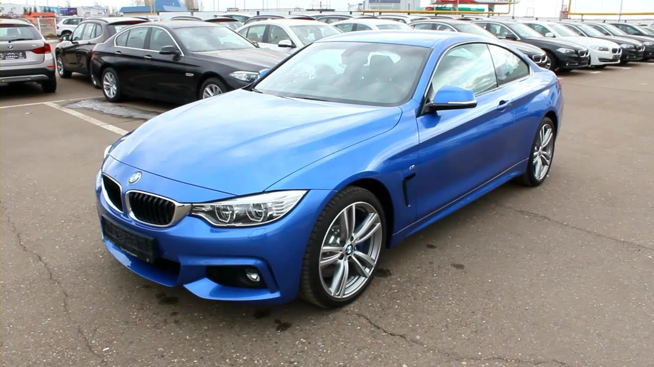 2014 BMW 428i xDrive Coupe (F32). Start Up, Engine, and In ...