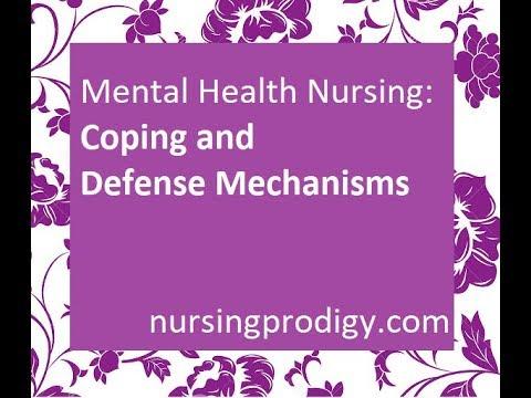 Mental Health Nursing Coping Defense Mechanisms Youtube