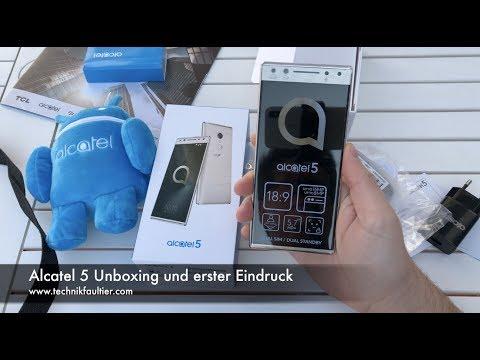 Alcatel 5 Unboxing und erster Eindruck