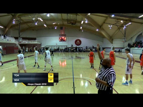 Hoops Classic 2019 (The Oaks Adventist Christian School v.s. Sandia View Academy)