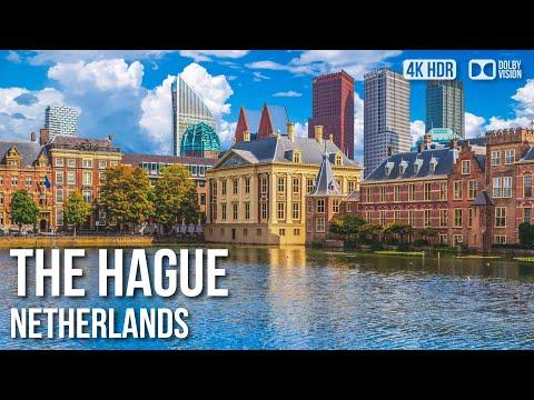 The Hague City Walking Tour〚𝟒𝐊〛🇳🇱 Netherlands