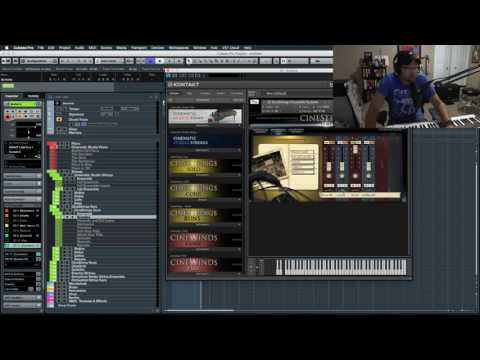 Composing Live with Cubase: Creating a cue from Scratch Part 1