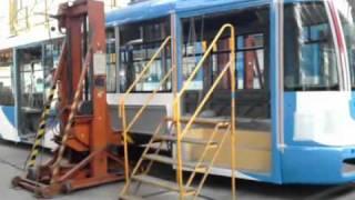 Dílny Dopravního podniku Ostrava-Workshop Ostrava Transport Company