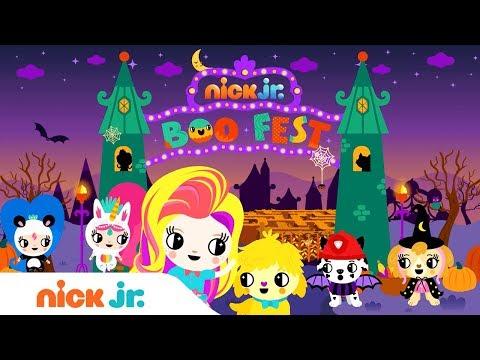 'Nick Jr. Boo Fest' 🎃  Halloween Music Video w/ PAW Patrol, Sunny Day, Blaze & More!
