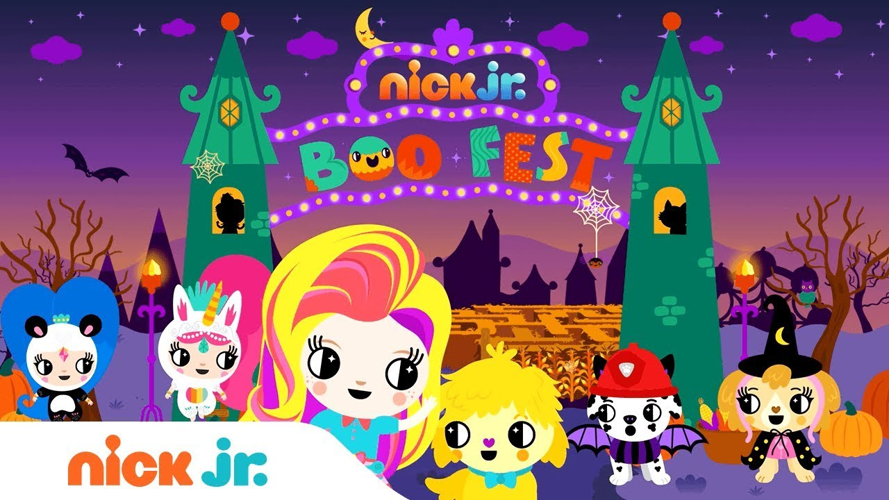 'Nick Jr. Boo Fest'  Halloween Music Video w/ PAW Patrol, Sunny Day, Blaze & More!