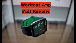 Workout App Full Review! (Apple Watch)