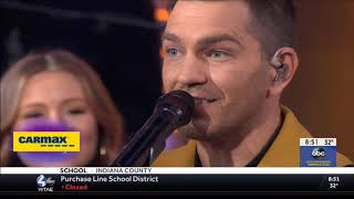 Andy Grammer sings Don't Give Up On Me Live Concert Performance 2019 HD 1080p
