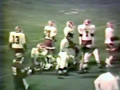 1985 Stilwell Indians at Spiro Bulldogs Football (COLOR)