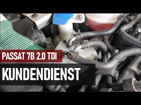 VW Passat 7B 2.0 TDI | Service Inspektion | #VW ✔️