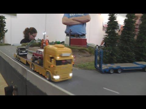 Scania R560 Axel Ulrich Als Fahrzeugtransport Rc 1 87 Youtube